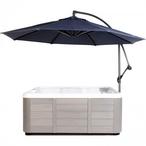 10 Ft Market Hot Tub Umbrella, Blue
