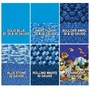 Overlap 18' Round 48/52 in. Depth Blue Stone Above Ground Pool Liner, 20 Mil