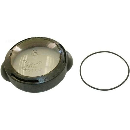 Hayward - Strainer Cover with Lock Ring and O-Ring, Matrix - 40110