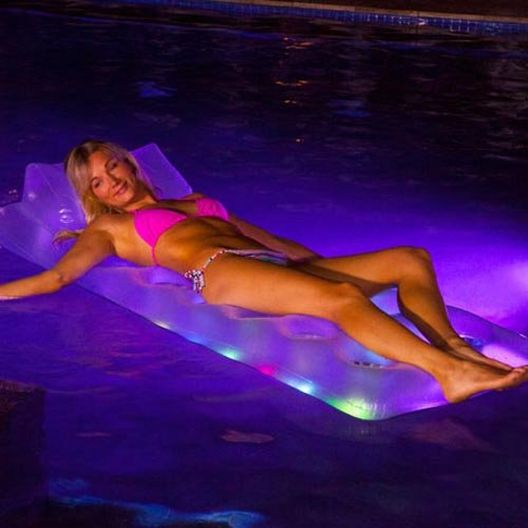 LED Inflatable Pool Lounge