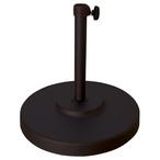 Metal Umbrella Base - Black or Bronze Cast Iron Bases For Umbrellas - MASTER-prod200010