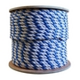 3/4 inch Rope - Blue/White