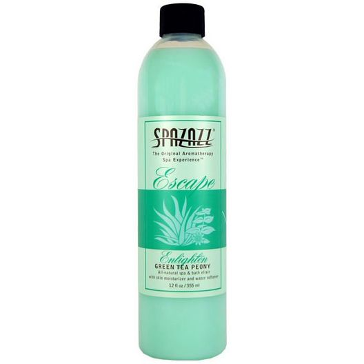 Escape Elixirs - Green Tea Peony - 12 oz.
