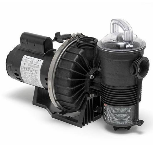 Challenger High Pressure Standard Efficient Up-Rated 1HP Pool Pump 115/230V