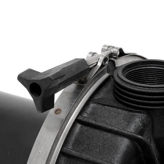 Challenger High Pressure Standard Efficiency Up-Rated 2HP Pool Pump, 115V/230V