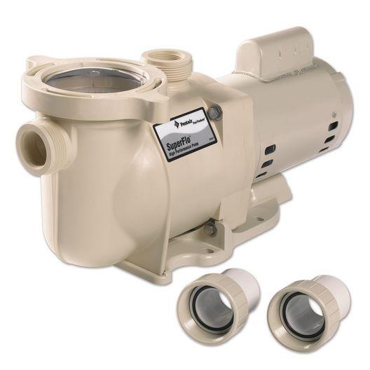 SuperFlo 340038 Standard Efficiency 1HP Single Speed Pool Pump 115V/230V