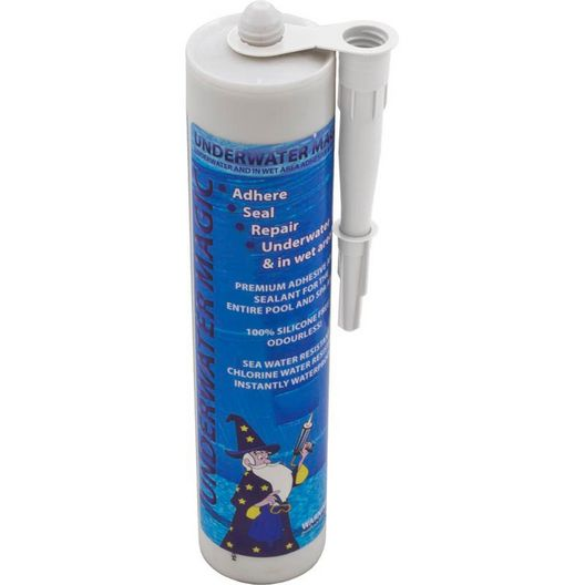 Underwater Magic Mosaic Sealant, 9.8 oz Tube, White