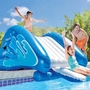 58849EP Inflatable Water Slide with Slide Sprayers