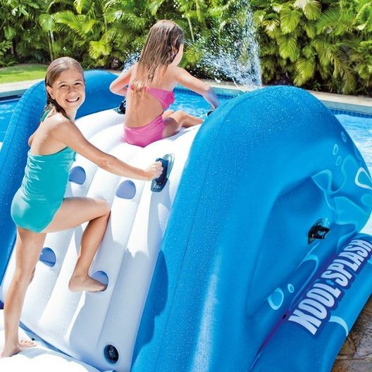 Intex  58849EP Inflatable Water Slide with Slide Sprayers