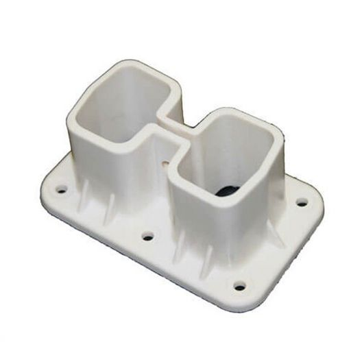 Rear Deck Flange - White