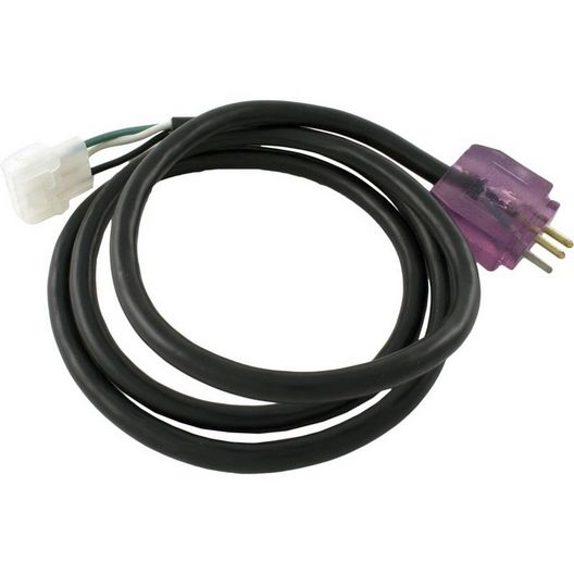 Spa Blower Power Cord, 3-wire, 48in with J&J Male P-3 Plug
