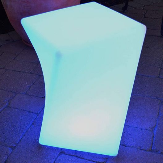 Main Access  Twist LED Light Patio Stool