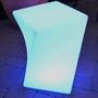 Twist LED Light Patio Stool