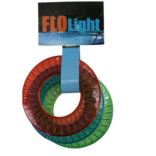 FloLight Colored Lens Kit - Red, Blue, Green
