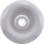 Jet Internal, Pentair Micro Cyclone Directional, 3.25 inch Face, Emerald Cut, 2-1/8 inch hole size required, White