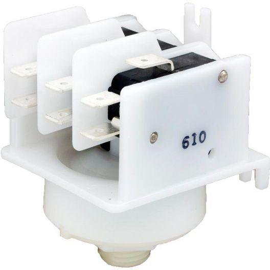 Presair  Magictrol Air Switch 3PDT 21A Black Cam Threaded 9/16 MTK311A