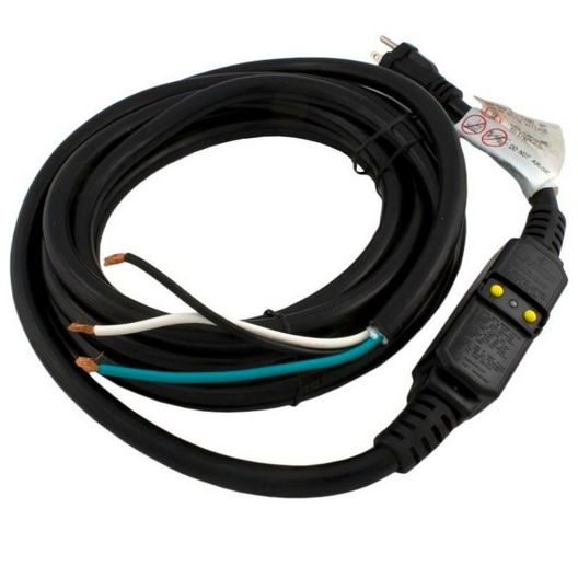Spa GFCI Power Cord 115V, 13A, Standard NEMA Plug, 16 ft.