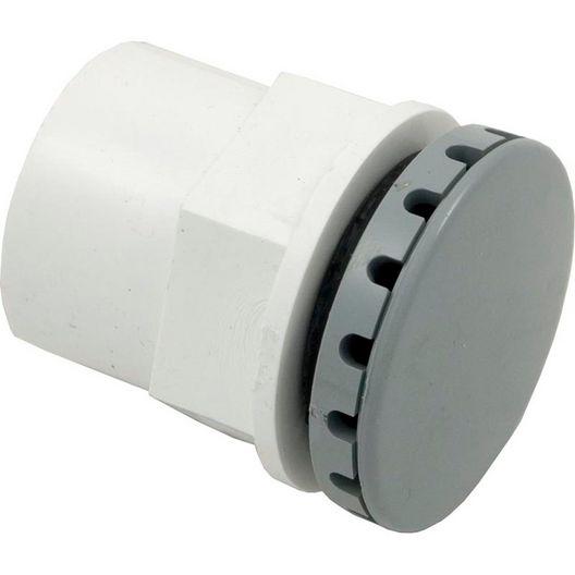 Balboa - HydroAir Lo-Profile Hi Output Air Injector, 3/4in Hole, Grey - 402324