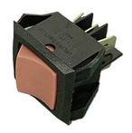 Rocker Switch, 6 Terminals On-On DPDT, 240V, 15A