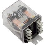 Ice Cube Style Power Relay, DPDT 8-Pin, 120VAC Coil, 25A