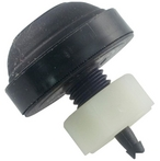 Air Button, Micro Spa Button, Black, #6435