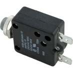 10A Panel Mount Circuit Breaker, 250VAC or 50VDC, 7/16in Hole Size