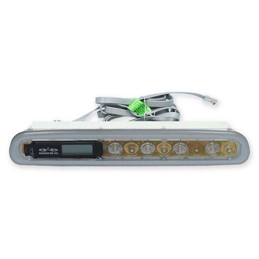 Balboa  D-1 Long Topside Control Panel 51489 4-Button