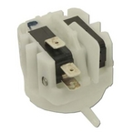 Air Switch, SPDT, 21A, Latching Side Spout, ARA111A