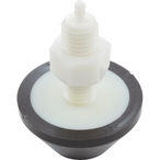 Air Button, Raised Cone, Brown, MPT3190