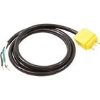 Spa Ozone GLO Lighted Power Cord, 48 in 18/3, Mini J&J Plug