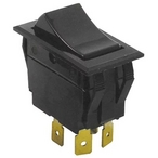 Rocker Switch, 4 Terminals On-Off DPST, 240V, 15A