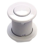 Air Switch Button, White, 3070