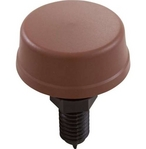 Air Button, Mushroom Cap, Brown, #6433