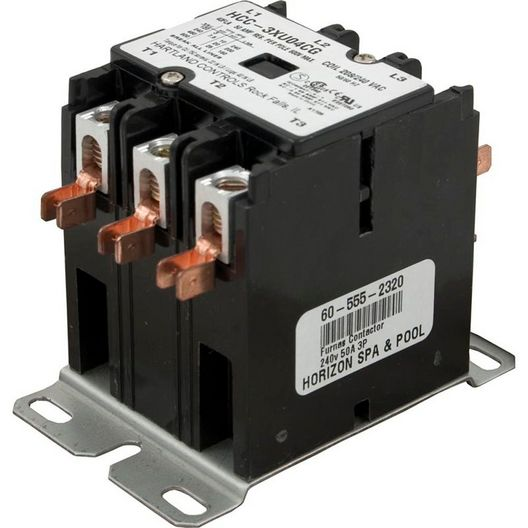 Electric Spa Heater Contactor, 50A, 3PC-240