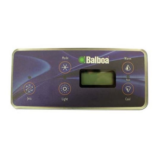 Balboa  Topside Control Panel 51452 Serial Standard 5-button LCD w 7 foot phone connection
