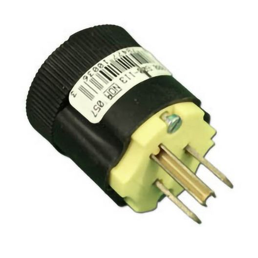 Spa Power Cord End 115V 15A Standard NEMA Plug 3-Prong Male