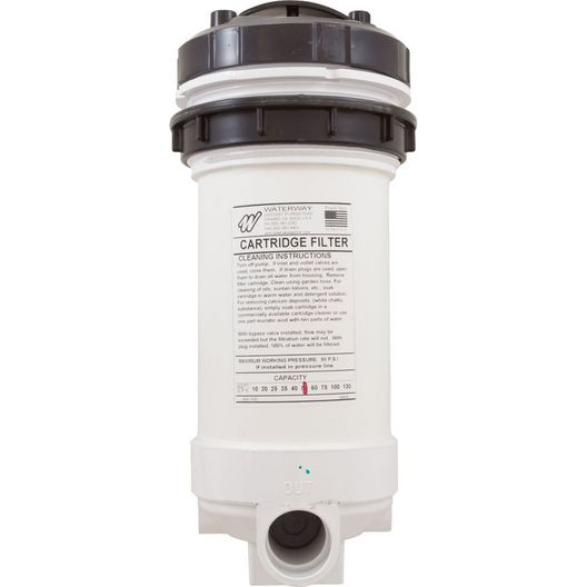 Waterway  Top Load Spa Filter and Brominator 1.5 in 50 SF 502-5050
