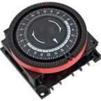 Diehl - 24 hr Spa Timer, SPDT 120V, 5-Term Red Panel Mount - 402716