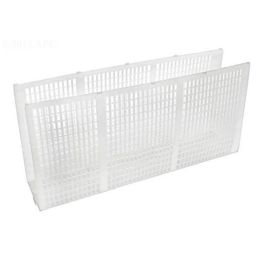 Filter screen, white