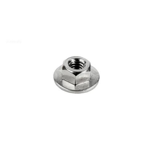 Hayward - 1/4 inch hex nut w/washer for tank bolt
