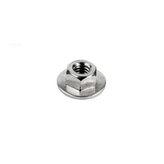 Hayward  1/4 inch hex nut w/washer for tank bolt