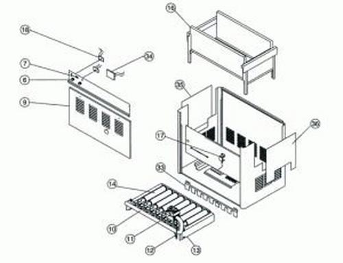 Pentair - Control Panel Door, Millivolt 150