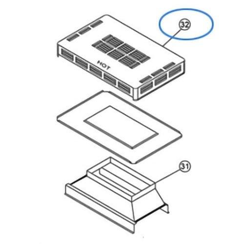 Pentair - Replacement Outdoor top assy. 150