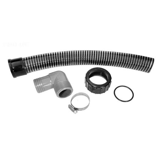 "Replacement Quick connect hose assy 18"" filter"