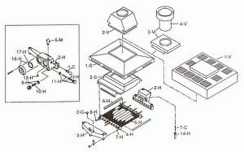 Raypak - Baffle, Kit 265B