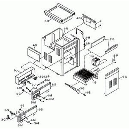 Raypak  Refractory Retainer Kit 183/A/185/C180