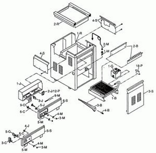 Raypak - Refractory Retainer Kit 263A
