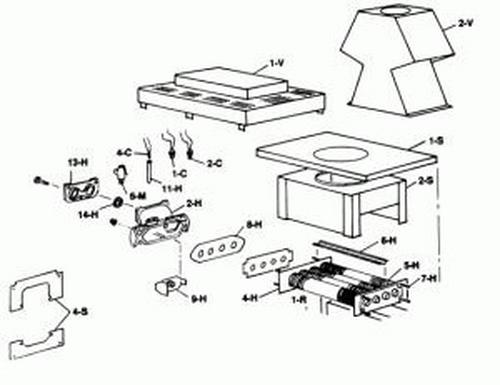 Raypak - Retainer, Refractory Kit