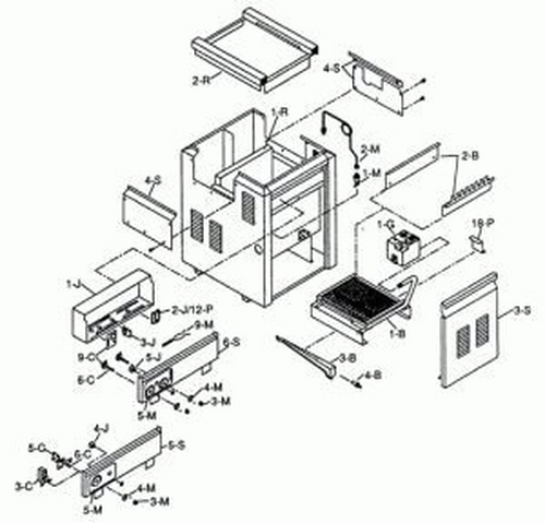 Raypak - Refractory Kit-265B