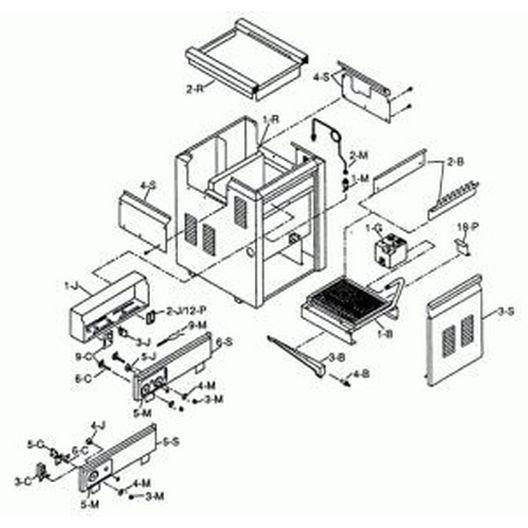 Raypak  Refractory Kit-265B